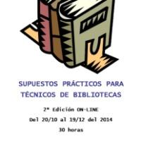 Curso Anabad Galicia: Supostos prácticos para Facultativos de Grao medio de Bibliotecas